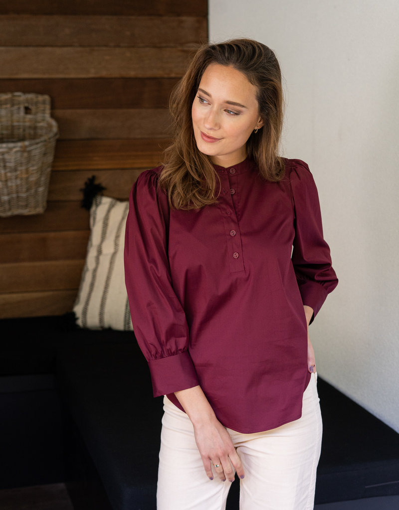 Blouse Lauranne - Fired Brick