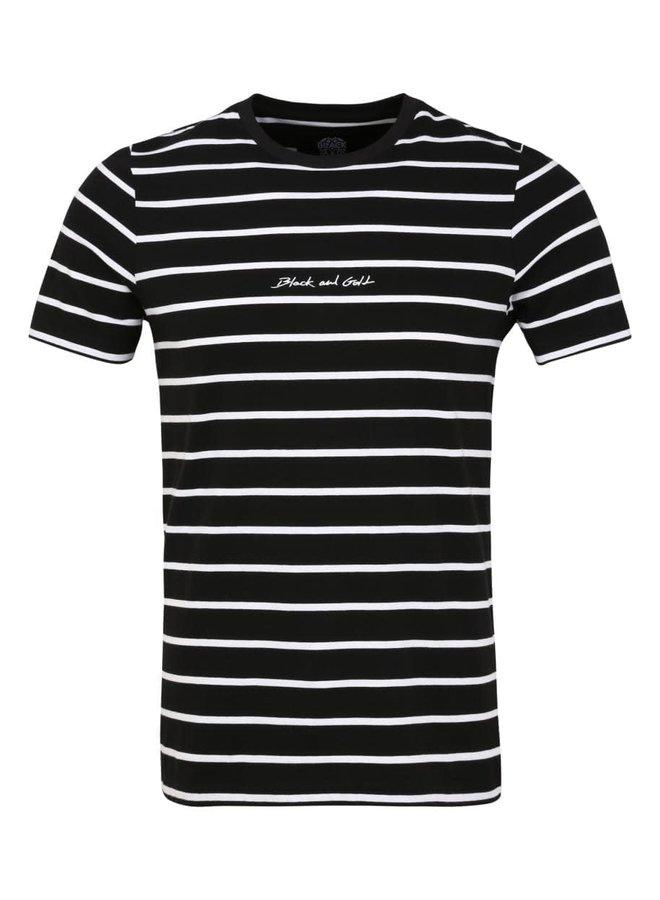 T-Shirt - Short Sleeve / Bandanera - Black