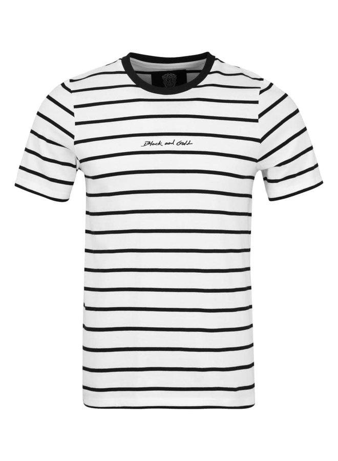 T-Shirt - Short Sleeve / Bandanera - White