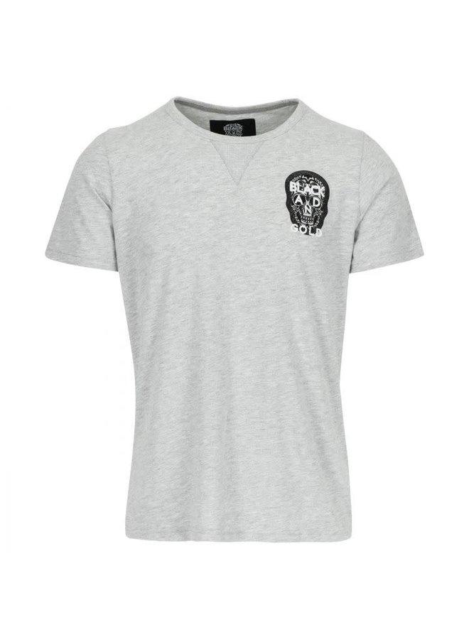 Mini logos tee Grey Melange