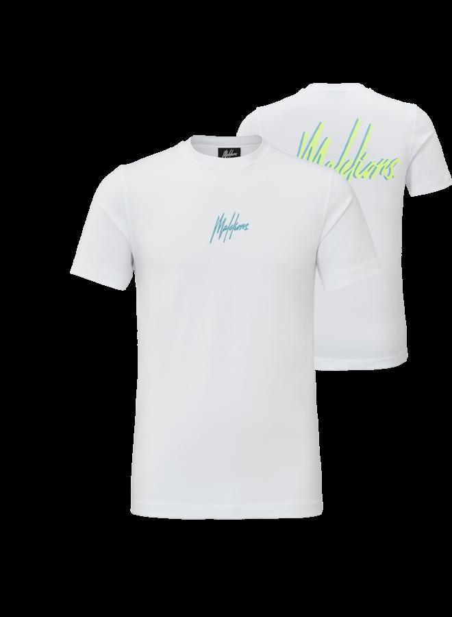 T-Shirt Double Signature / White