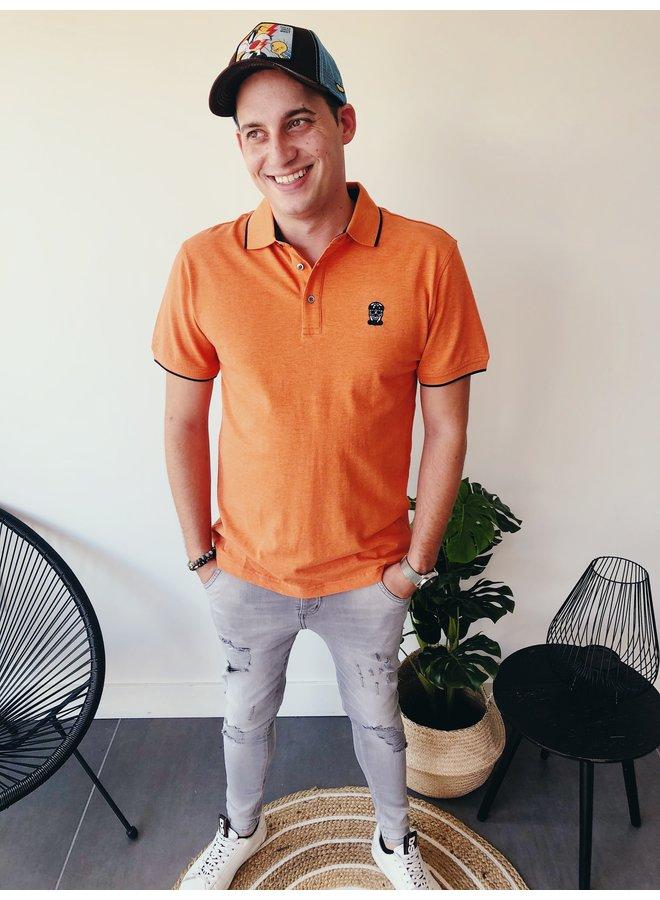 Polo street basic / Orange Melange