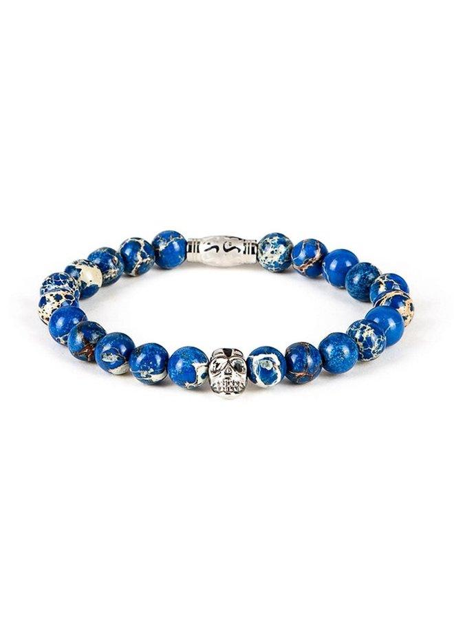 Bracelet - Ocean Blue - Silver