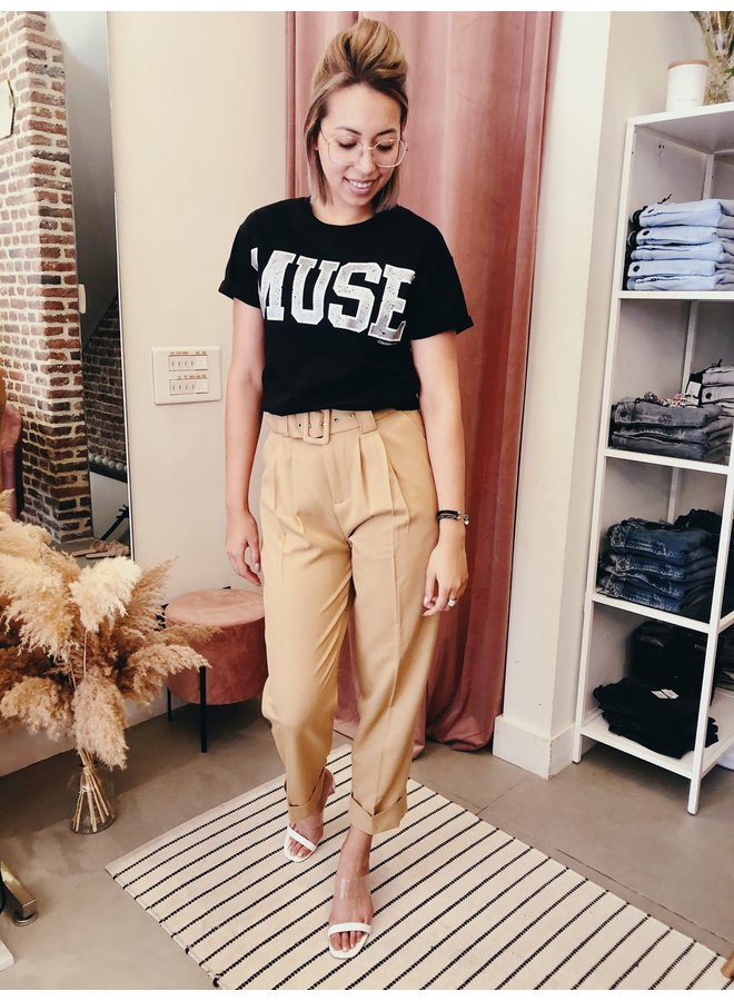 T-Shirt - Short Sleeve - Muse Boxy / Black
