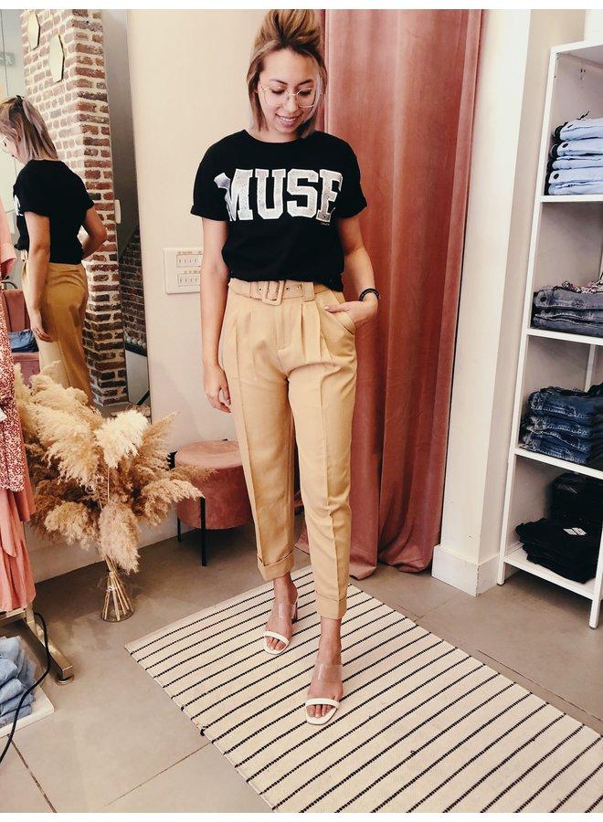 Pants - Demi / Light Brown
