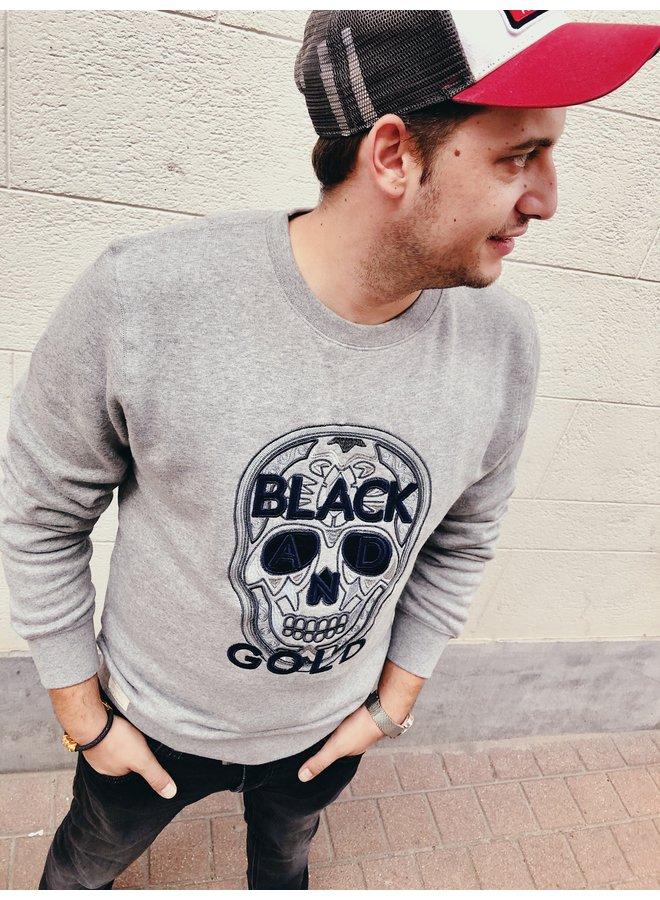Sweater - Play Craneo / Grey Melange