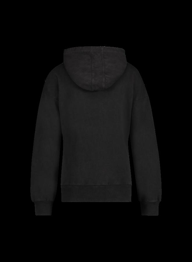 Sweater - Sam / Snake print - Antracite