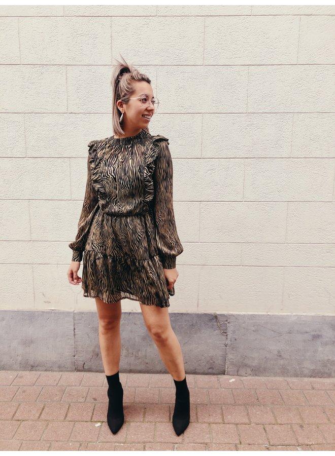 Dress - Short - Dancing Queen / Zebra