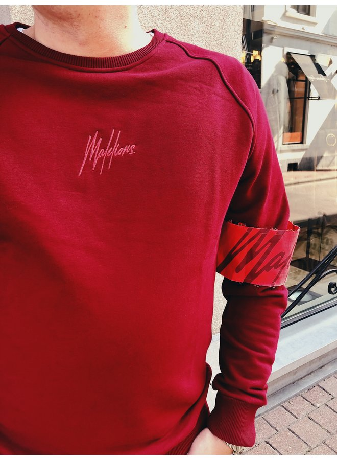 Sweater - Captain Crewneck / Koral Red