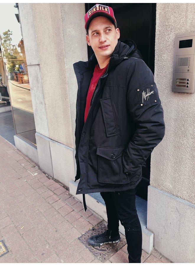 Coat - Parka / Black