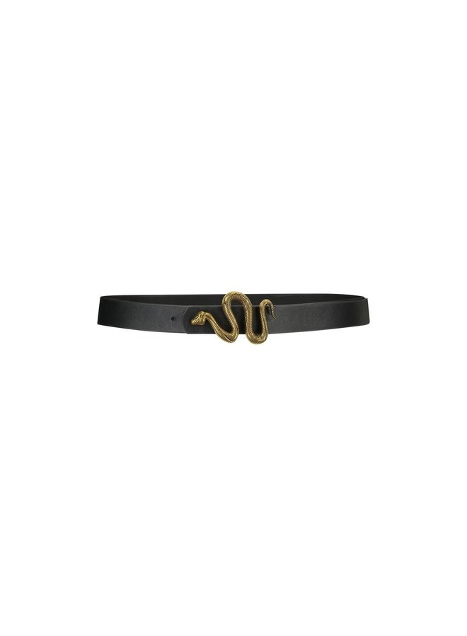 Belt - Ashley - Snake / Black