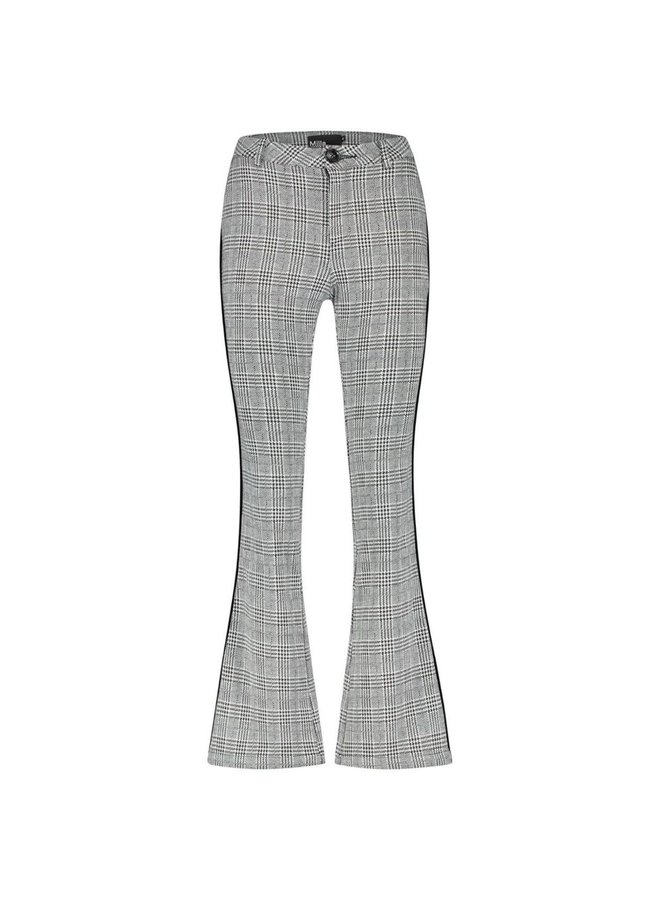 Pants - Pammie / Black White Check