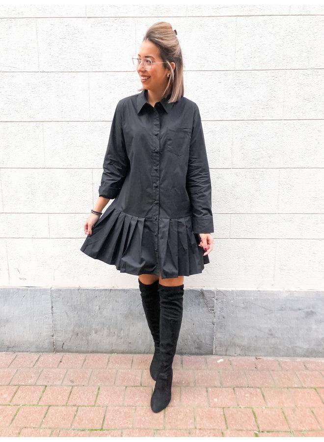 Dress - Cotton / Black