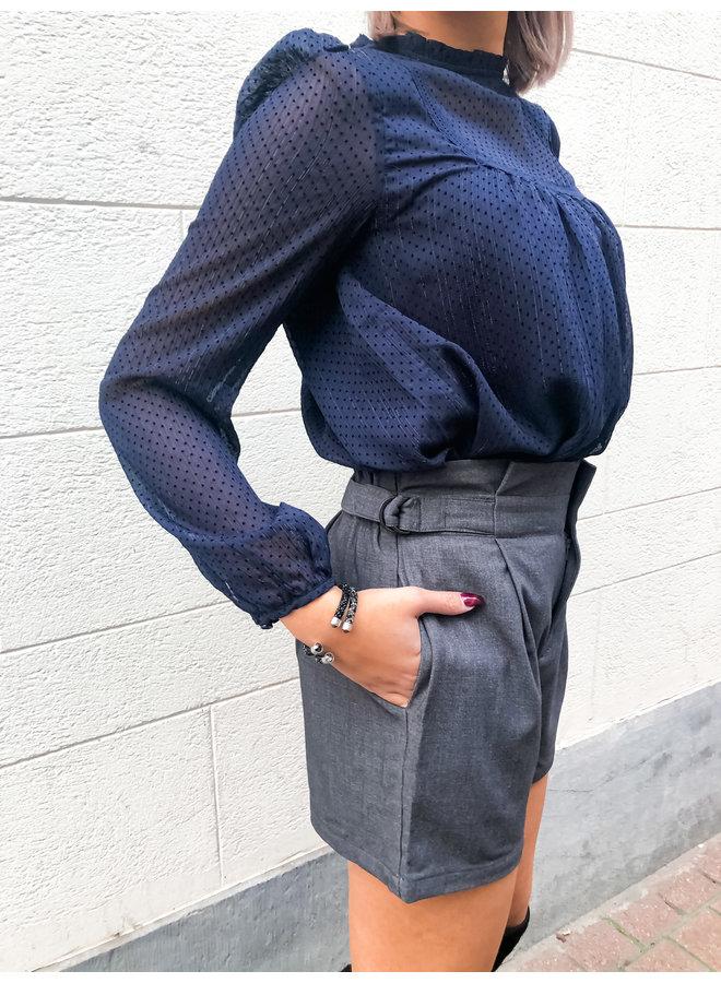Short - High Waist / Grey