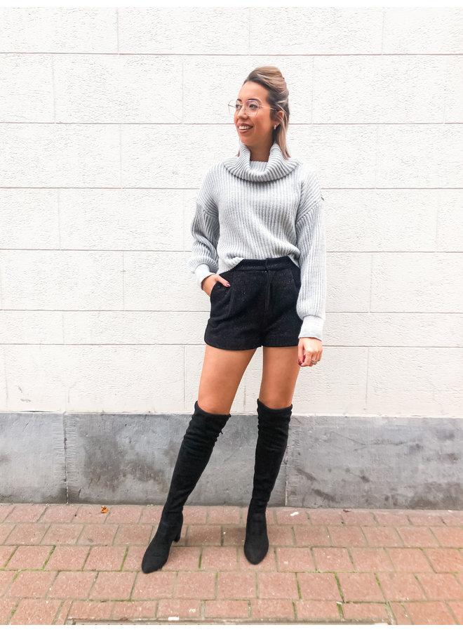 Short - Glam / Black