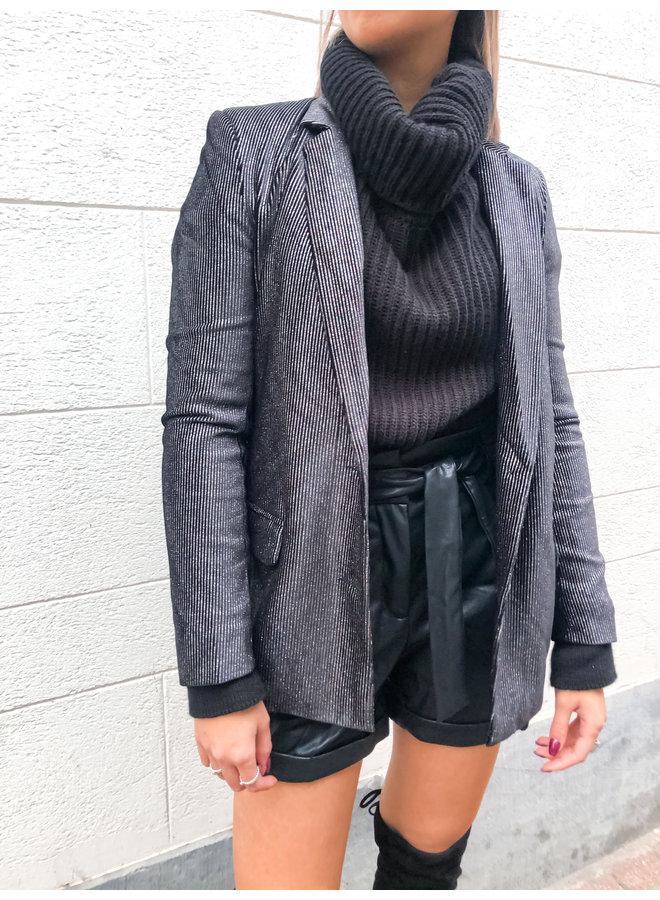 Blazer - multicolor - Glam / Black