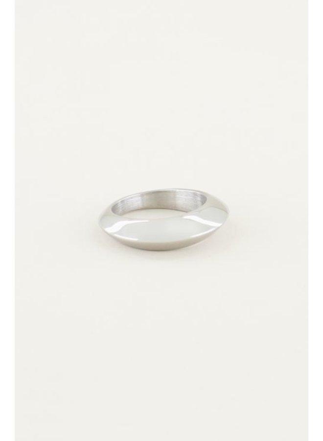 Statement Ring / Zilver