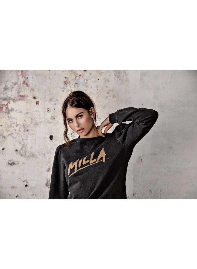 Sweater - Sienna / Logo Print - Antracite