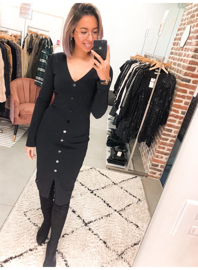Dress - Merel Knitwear  / Black