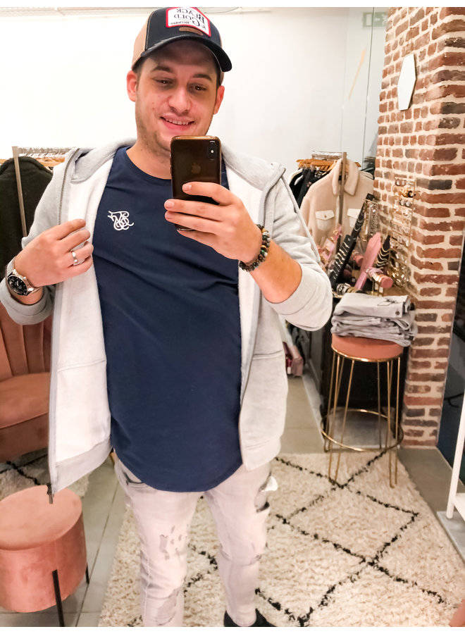 T-Shirt - Short Sleeve / Core Gym Tee - Navy