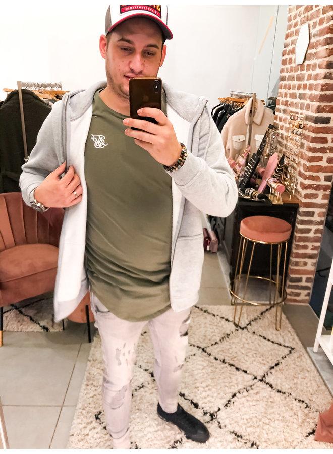 T- Shirt - Short Sleeve / Core Gym Tee - Khaki