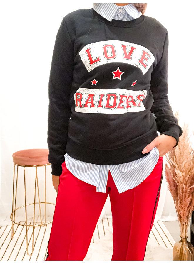 Sweater - Love Raiders Basic / Black