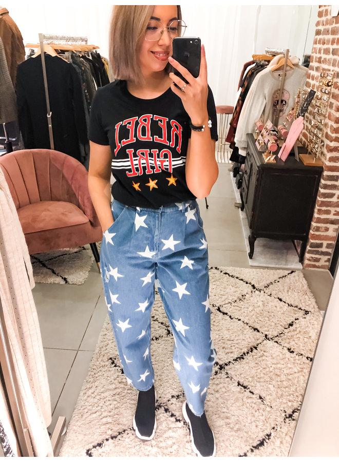 T-Shirt - Rebel Girl Classic / Black