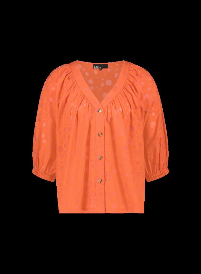 Blouse - Brenda / Spicy Orange