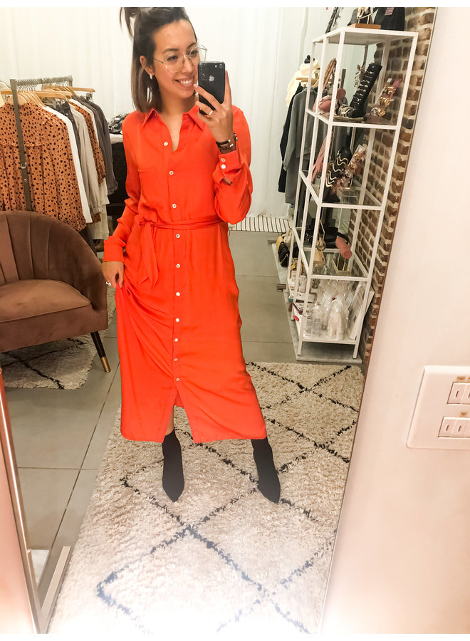 Jurk - Della / Spicy Orange