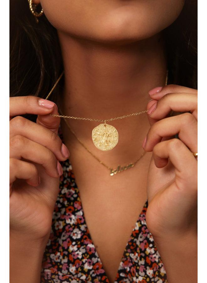 Ketting zodiac Maagd / goud