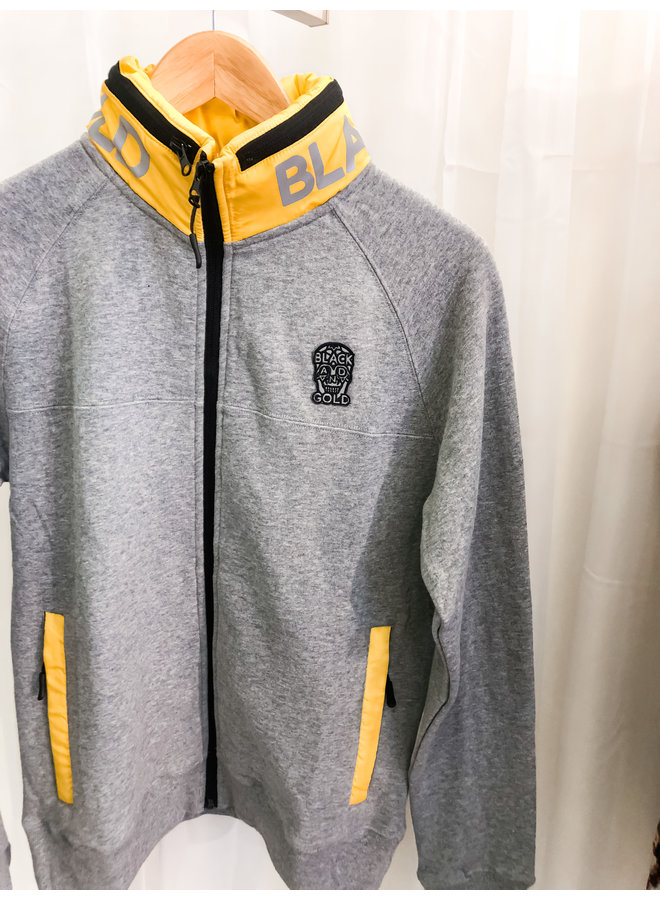 Vest - Dripdropos / Grey -Yellow