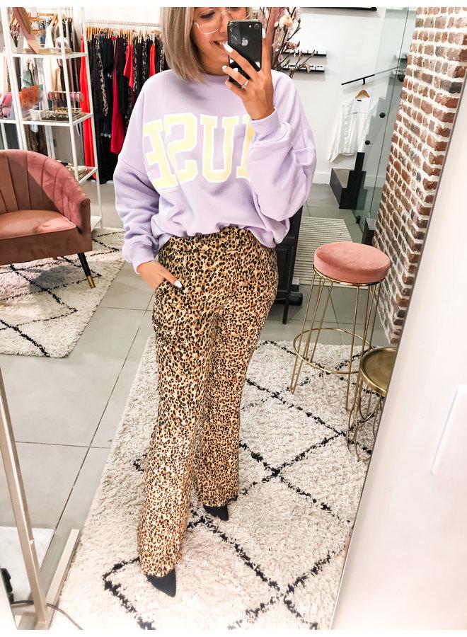 Broek - Diana Leopard / Brown