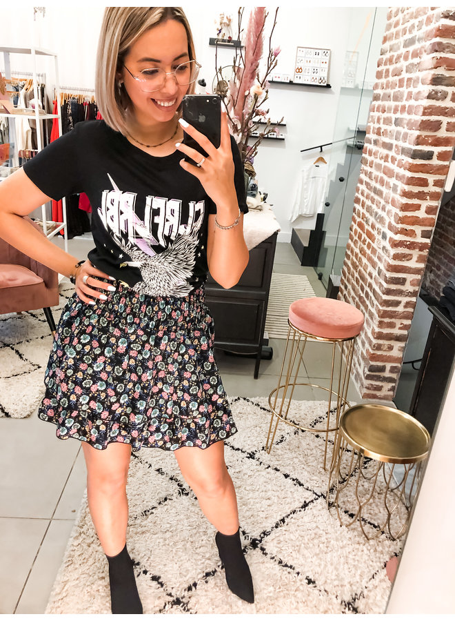 T-Shirt - Clrfl Rbl Classic Tee / Black