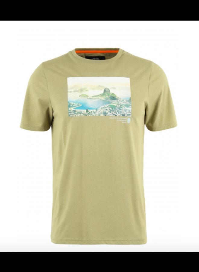 T-Shirt - Postalos/ Khaki Melange