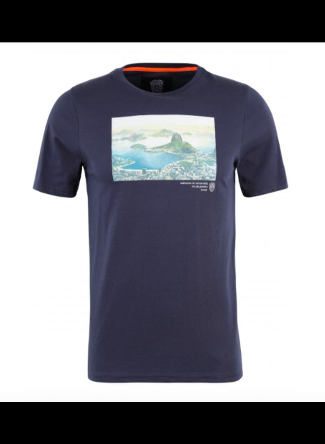 T-Shirt - Postalos  / Navy