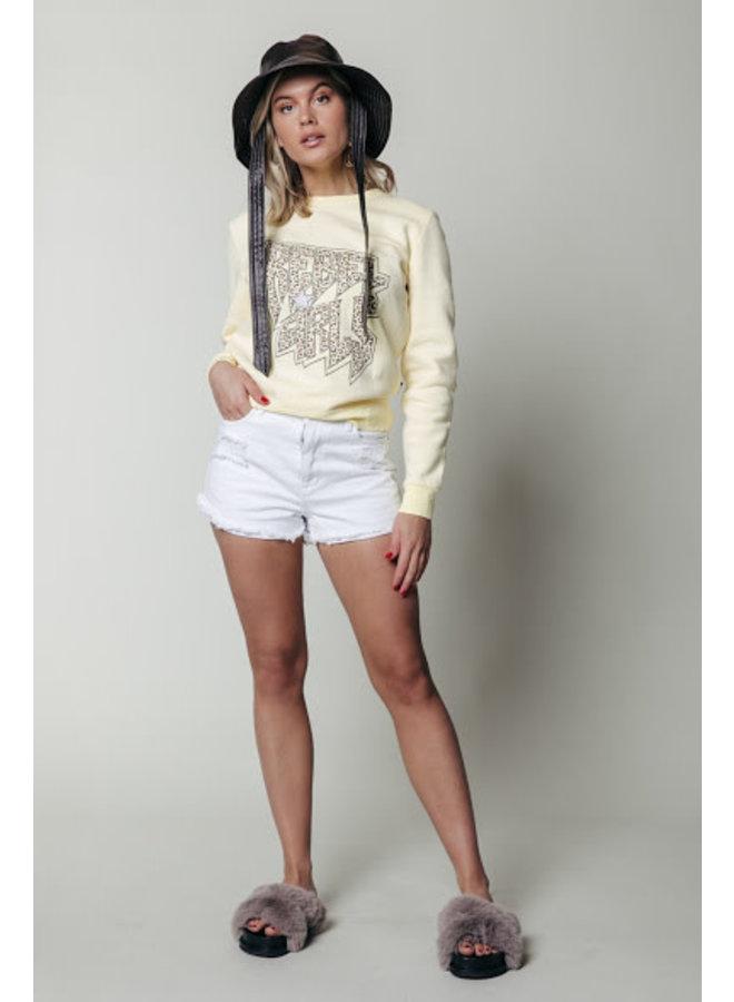 Sweater - Rebels Girls Basic / Yellow