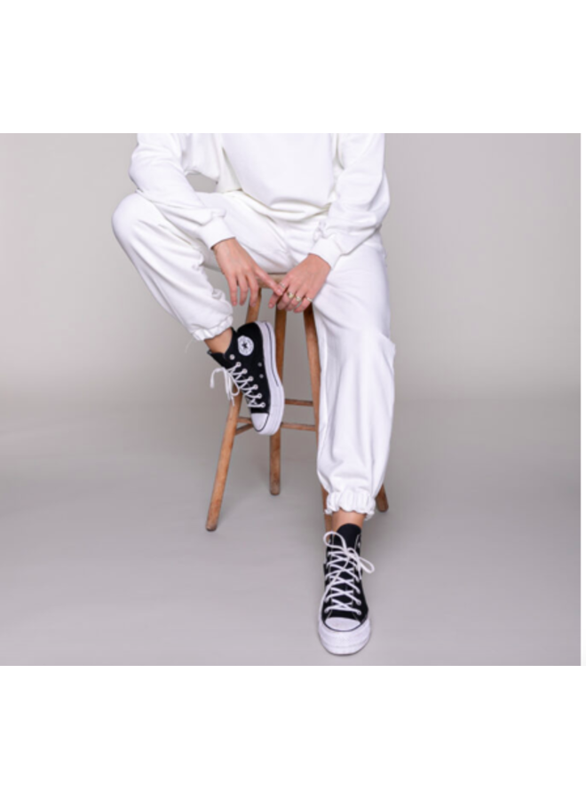 Broek Jogging - Sweat Jogging Pants / Off White