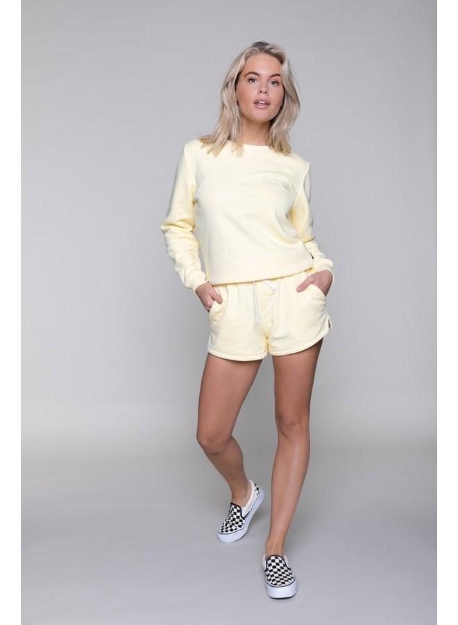 Sweater - Basic Sweater / Yellow