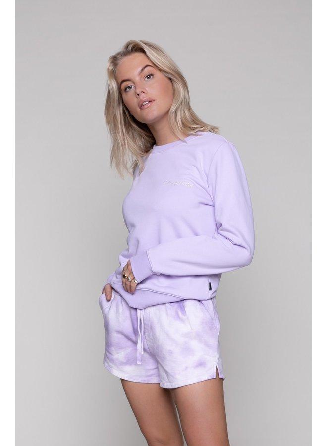 Sweater - Basic Sweater / Lila