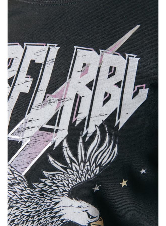 Sweater - Crlfl Rbl Basic / Pirate Black