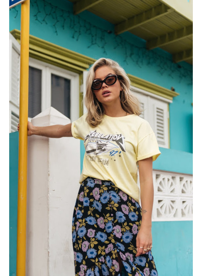 T-shirt - Rebalation / Yellow