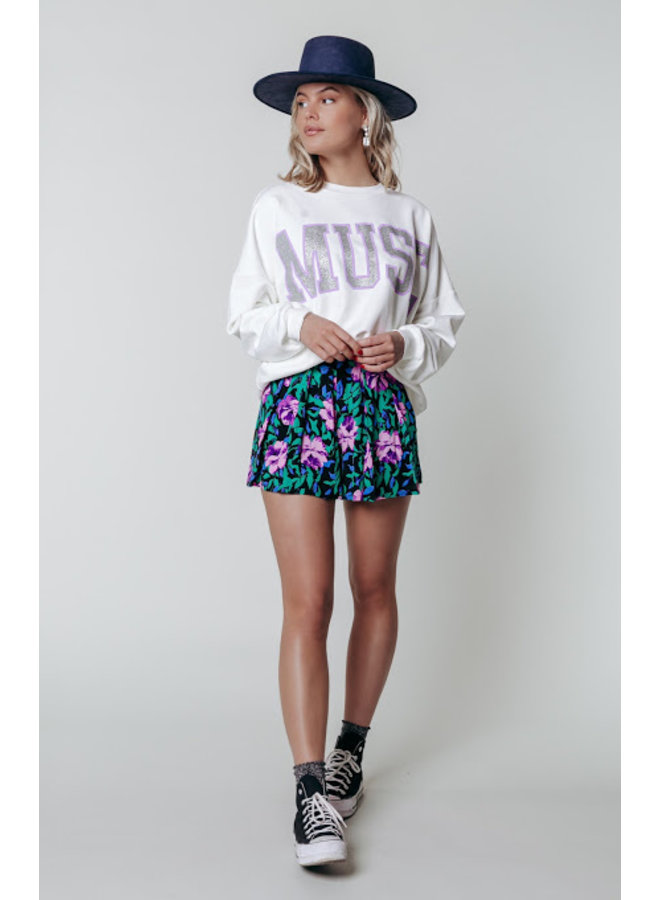 Sweater - Muse Dropped Shoulder / Off White