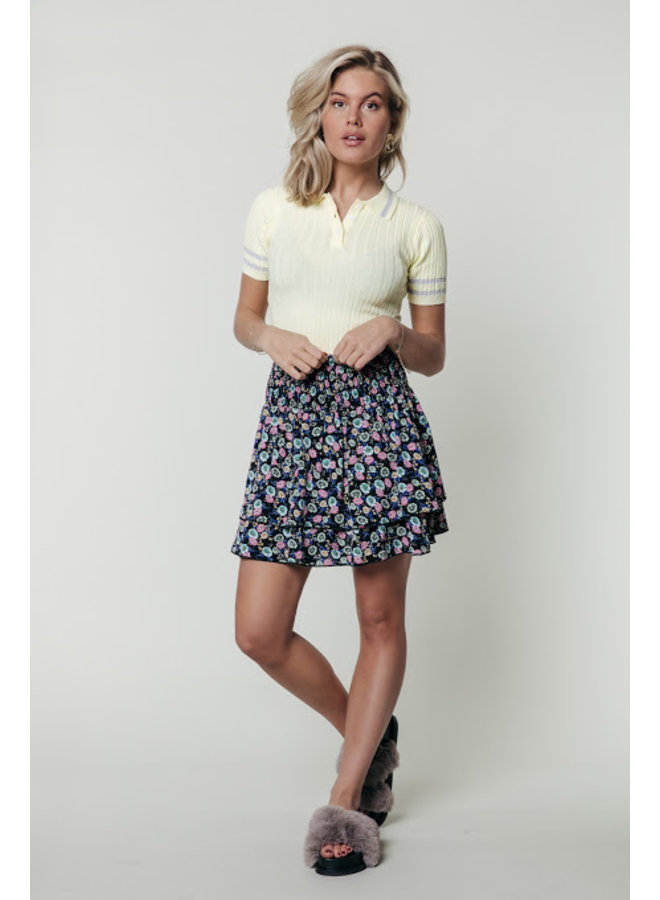 Rok - Daphne Flower Two Layer / Multicolor