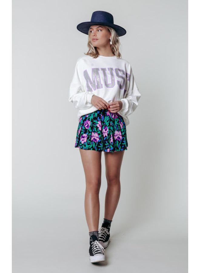 Short - Kendall Flower / Multicolor