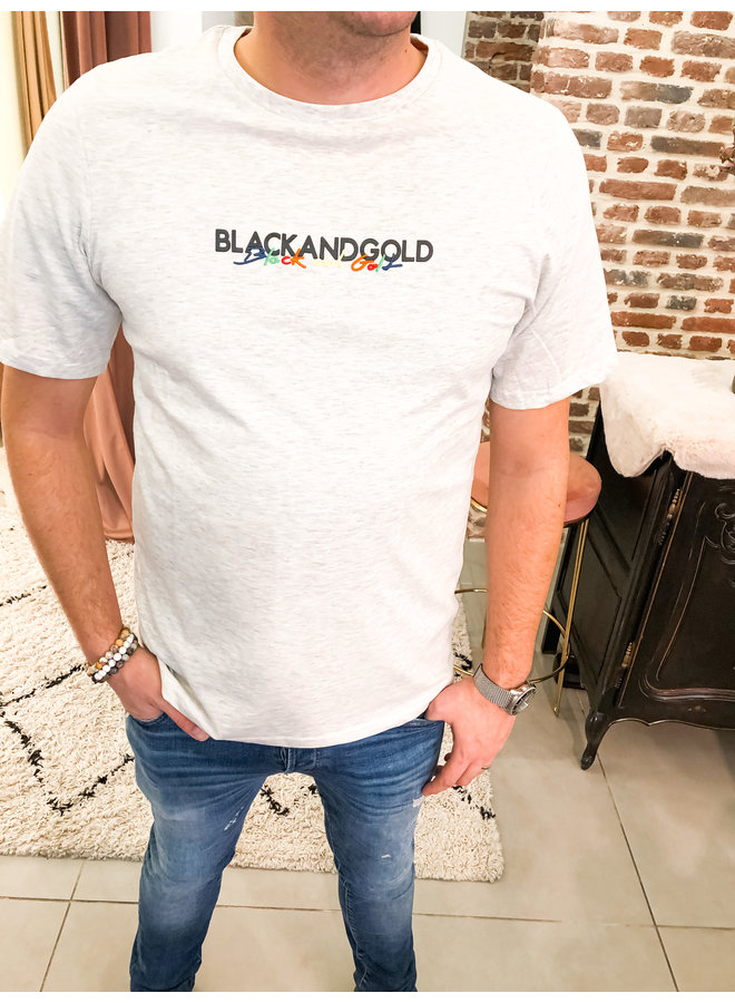 T-Shirt - Balenoti  / Ecru Melange