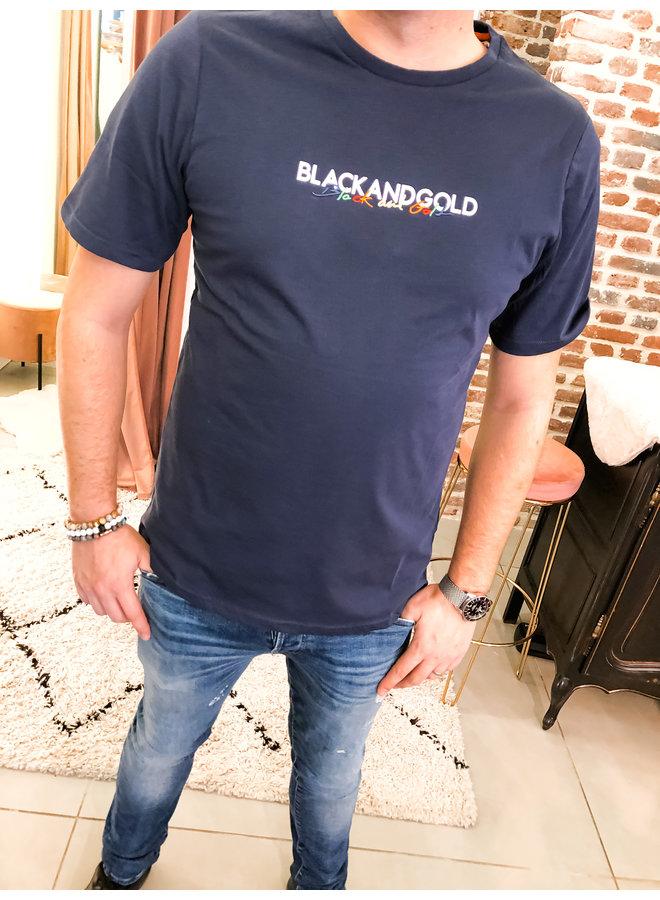 T-Shirt - Balenoti / navy