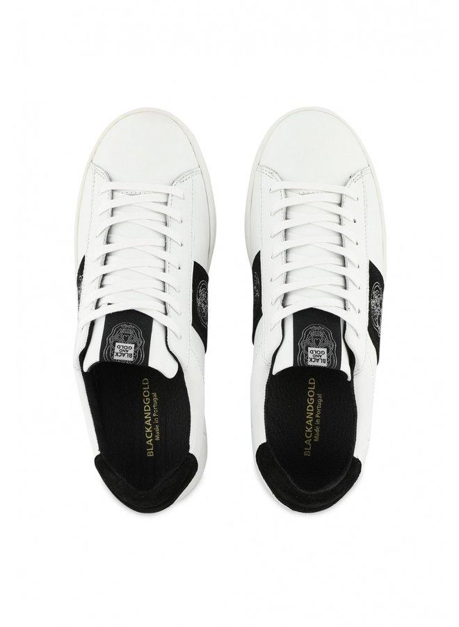 Schoenen - El Zapato Skull / White -Black