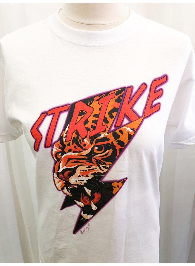 T-Shirt - Strike / White