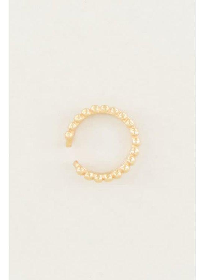 Ear Cuff - Dubbele Ring / Goud