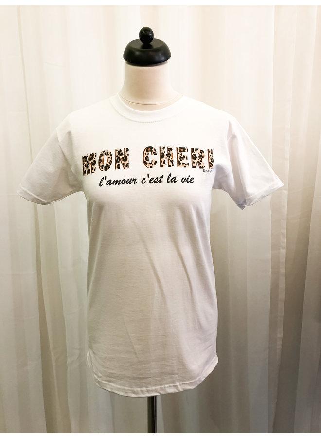 T-Shirt - Mon Cheri / White